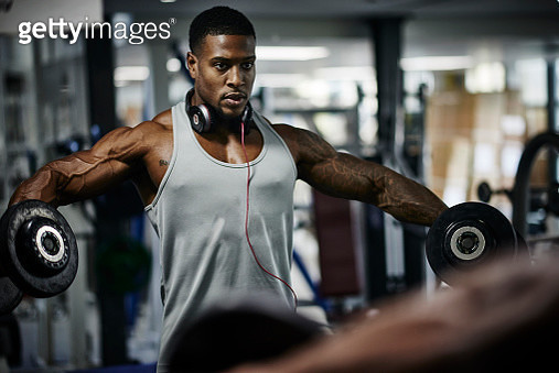 Bodybuilder training - gettyimageskorea