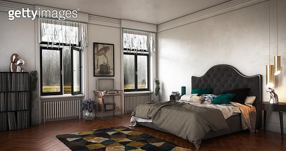 Luxury Bedroom Interior - gettyimageskorea