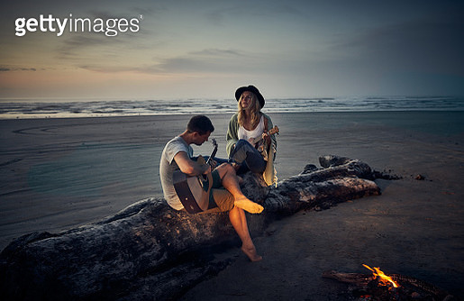 Melodic moments at sunset - gettyimageskorea