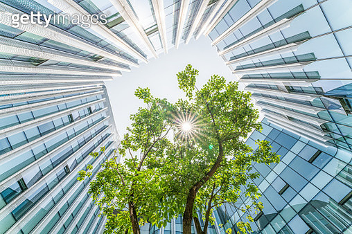 Modern ecological city - gettyimageskorea