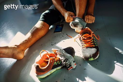 Man after a workout - gettyimageskorea