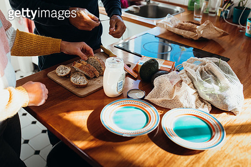 Lunchtime at home - gettyimageskorea