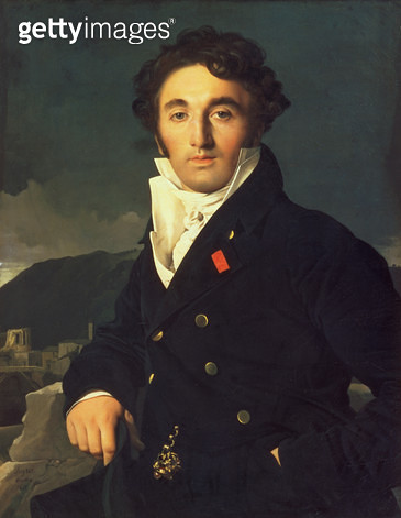 <b>Title</b> : Portrait of Charles Cordier (1777-1870) 1811 (oil on canvas)<br><b>Medium</b> : oil on canvas<br><b>Location</b> : Louvre, Paris, France<br> - gettyimageskorea
