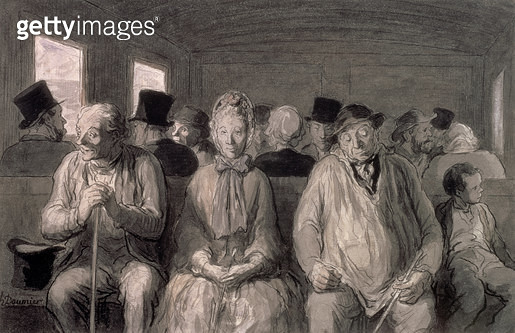 <b>Title</b> : The third class carriage (w/c)<br><b>Medium</b> : <br><b>Location</b> : Private Collection<br> - gettyimageskorea