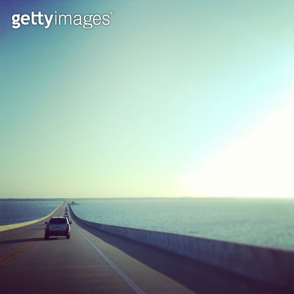 Early morning road trip. - gettyimageskorea