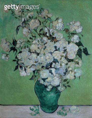 A Vase of roses, 1890Vincent Van Gogh - gettyimageskorea
