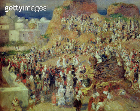 <b>Title</b> : The Mosque, or Arab Festival, 1881 (oil on canvas)<br><b>Medium</b> : oil on canvas<br><b>Location</b> : Musee d'Orsay, Paris, France<br> - gettyimageskorea
