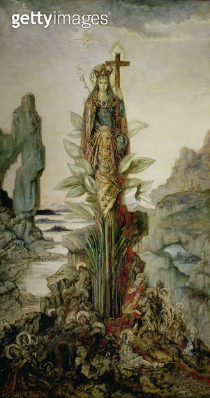 <b>Title</b> : The Mystic Flower<br><b>Medium</b> : <br><b>Location</b> : Musee Gustave Moreau, Paris, France<br> - gettyimageskorea