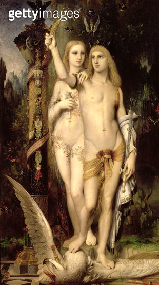 <b>Title</b> : Jason, or Jason and Medea, 1865<br><b>Medium</b> : oil on canvas<br><b>Location</b> : Musee d'Orsay, Paris, France<br> - gettyimageskorea