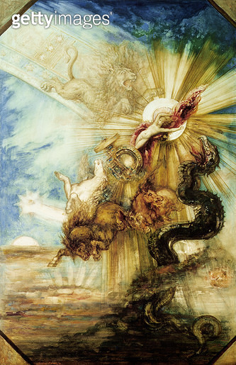 <b>Title</b> : The Fall of Phaethon (w/c on paper)<br><b>Medium</b> : <br><b>Location</b> : Louvre, Paris, France<br> - gettyimageskorea