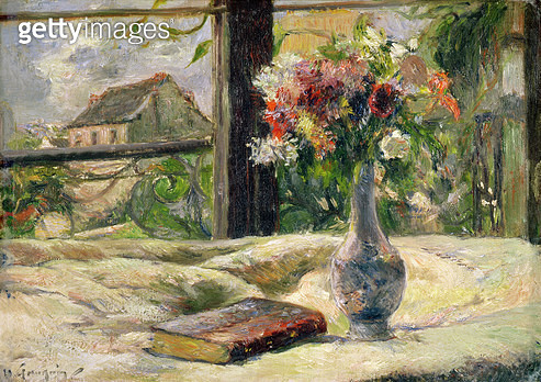 <b>Title</b> : Vase of Flowers (oil on canvas)<br><b>Medium</b> : oil on canvas<br><b>Location</b> : Musee des Beaux-Arts, Rennes, France<br> - gettyimageskorea