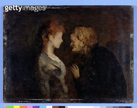 <b>Title</b> : La Confidence (The Secret) (oil on board)<br><b>Medium</b> : oil on board<br><b>Location</b> : National Museum and Gallery of Wales, Cardiff<br> - gettyimageskorea