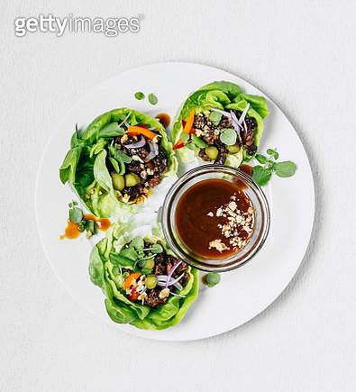 Lettuce wraps - gettyimageskorea