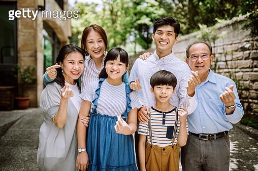 Happy Family Portrait - gettyimageskorea