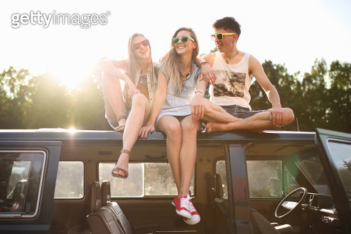 Young people having fun - gettyimageskorea