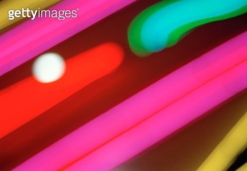 Abstract light pattern - gettyimageskorea