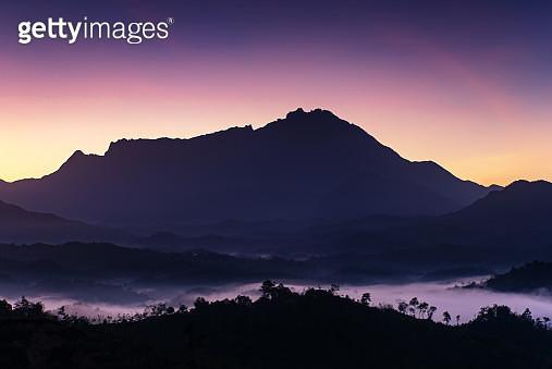 Sunrise Mt Kinabalu - gettyimageskorea
