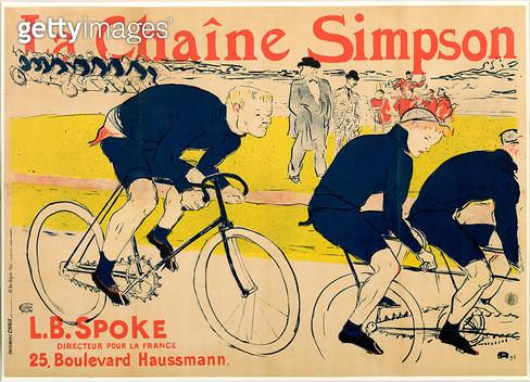 <b>Title</b> : The Simpson Chain, 1896 (litho)<br><b>Medium</b> : colour lithograph<br><b>Location</b> : San Diego Museum of Art, USA<br> - gettyimageskorea