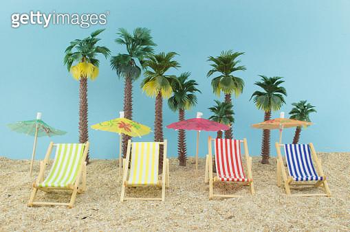 Caribbean beach full of esqueleton enjoying - gettyimageskorea