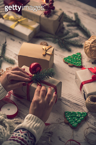 Special presents for loved ones - gettyimageskorea