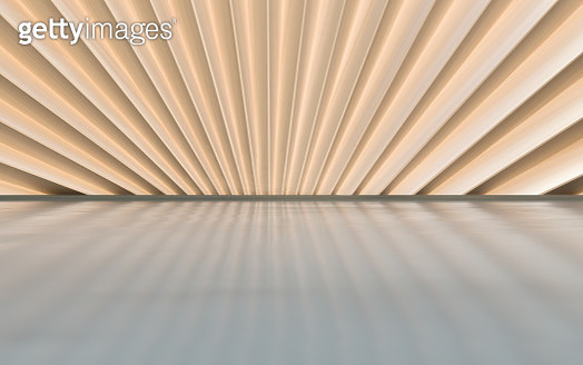 Empty futuristic architectural background - gettyimageskorea