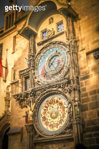 Prague Astronomical Clock - gettyimageskorea