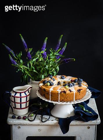 Blueberry cake - gettyimageskorea