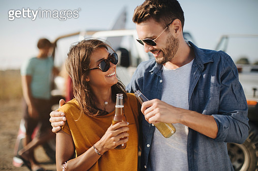 Toast to the friendship - gettyimageskorea