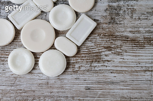 Pieces of soap - gettyimageskorea