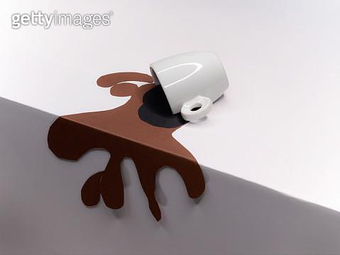 cardboard coffee - gettyimageskorea