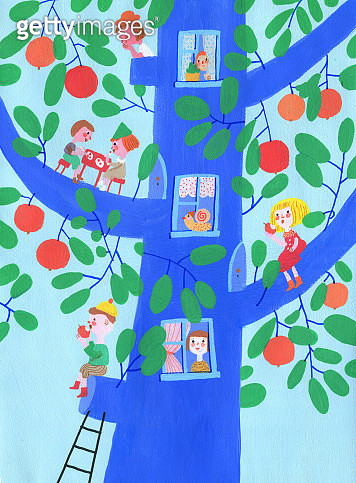 little people that live on the tree - gettyimageskorea