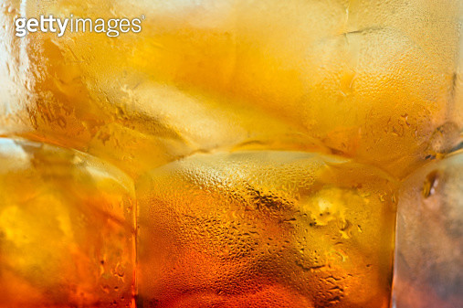 Iced Tea close up background - gettyimageskorea