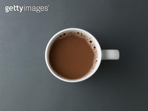 Hot Chocolate Above - gettyimageskorea