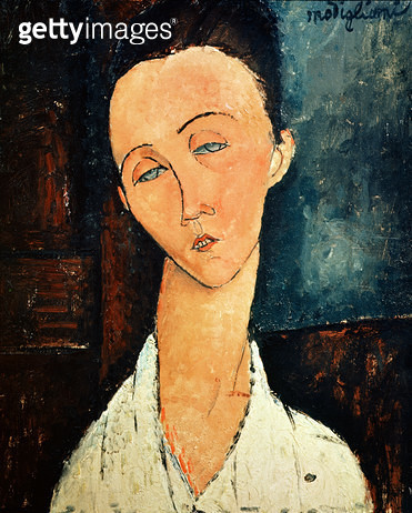 <b>Title</b> : Portrait of Lunia Czechowska, 1918 (oil on canvas)<br><b>Medium</b> : oil on canvas<br><b>Location</b> : Private Collection<br> - gettyimageskorea