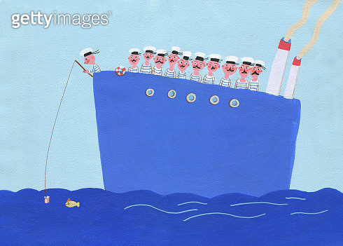 seamans on a big ship - gettyimageskorea