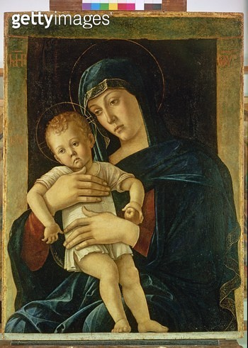 <b>Title</b> : The Greek Madonna and Child<br><b>Medium</b> : oil on canvas<br><b>Location</b> : Pinacoteca di Brera, Milan, Italy<br> - gettyimageskorea
