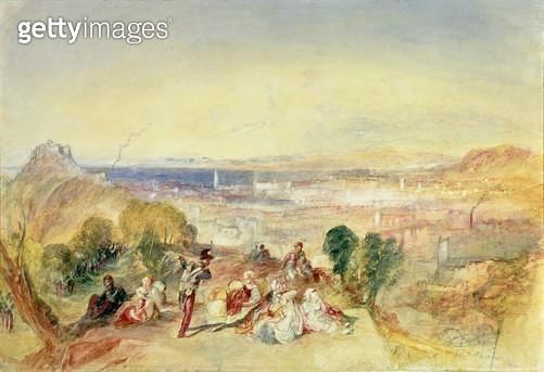 <b>Title</b> : Genoa, c.1850-51 (pencil and w/c on paper)<br><b>Medium</b> : pencil and watercolour on paper<br><b>Location</b> : Manchester Art Gallery, UK<br> - gettyimageskorea