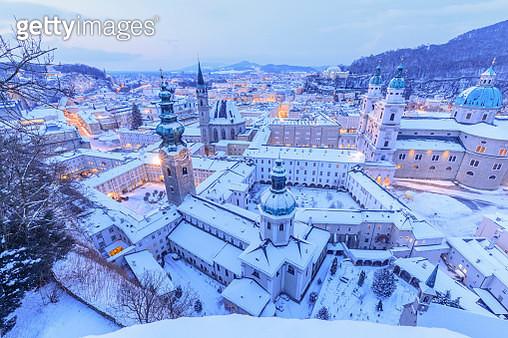 Salzburg winter - gettyimageskorea