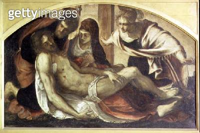 <b>Title</b> : Pieta<br><b>Medium</b> : oil on canvas<br><b>Location</b> : Pinacoteca di Brera, Milan, Italy<br> - gettyimageskorea