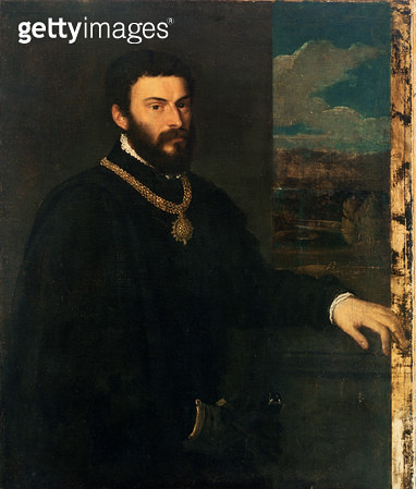 <b>Title</b> : Portrait of Count Antonio Porcia<br><b>Medium</b> : <br><b>Location</b> : Pinacoteca di Brera, Milan, Italy<br> - gettyimageskorea