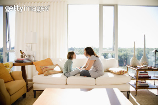 Small Family - gettyimageskorea