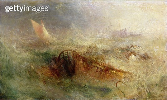 <b>Title</b> : The Storm, c.1840-45 (oil on canvas)<br><b>Medium</b> : <br><b>Location</b> : National Museum and Gallery of Wales, Cardiff<br> - gettyimageskorea
