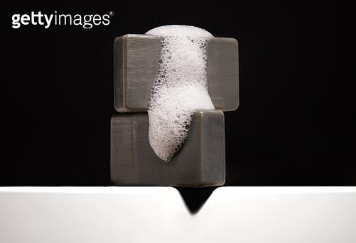 Charcoal Soap - gettyimageskorea