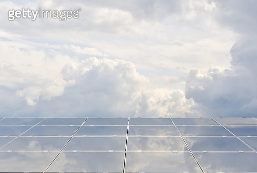 Solar panels renewable energy - gettyimageskorea