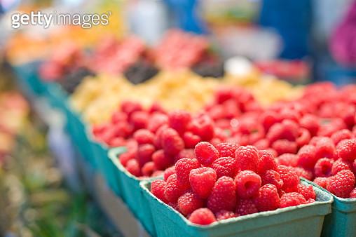 Raspberries - gettyimageskorea