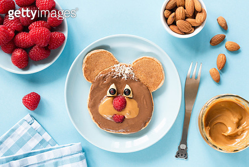 Cute Funny Pancake Food Art For Kids - gettyimageskorea