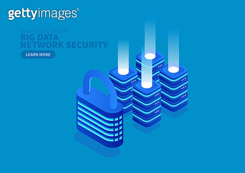 Lock and Big Data Network Security - gettyimageskorea