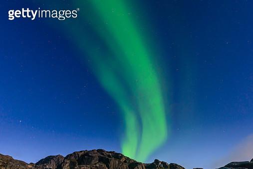 Aurora Borealis, Narsaq, Vestgronland, Greenland - gettyimageskorea