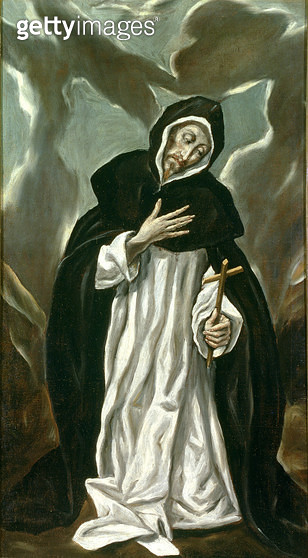 <b>Title</b> : St.Dominic of Guzman (c.1170-1221)<br><b>Medium</b> : oil on canvas<br><b>Location</b> : Museo de Santa Cruz, Toledo, Spain<br> - gettyimageskorea