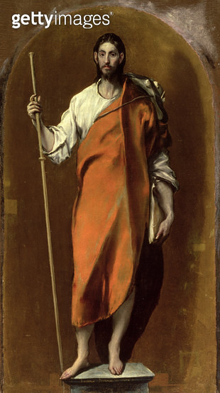 <b>Title</b> : St.James the Greater<br><b>Medium</b> : oil on canvas<br><b>Location</b> : Museo de Santa Cruz, Toledo, Spain<br> - gettyimageskorea